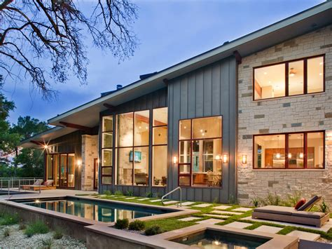 modern hill house designs mesmerizing hill country modern front elevation by zbranek