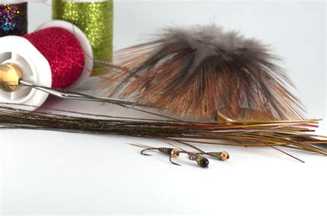 flight pattern in french micro glitter nymph for french nymphing style nymphe a