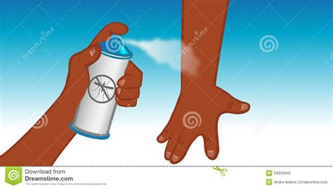 insect repellent spray royalty free stock photo image