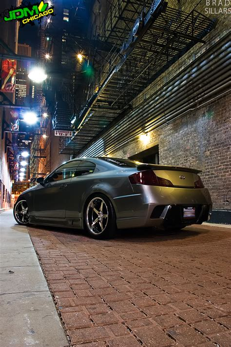 best exhaust for infiniti g35 coupe got my pic in import tuner mag g35driver infiniti g35