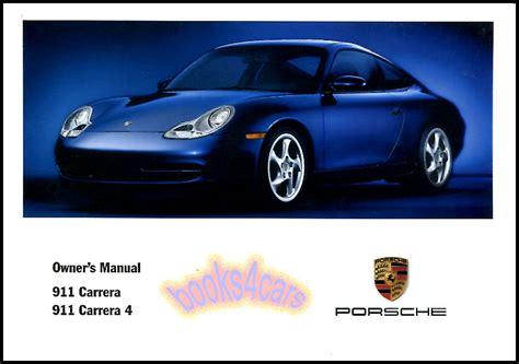 car repair manuals online pdf 2001 porsche 911 navigation system 2001 porsche 911 owners manual book 4 carrera handbook maintenance ebay