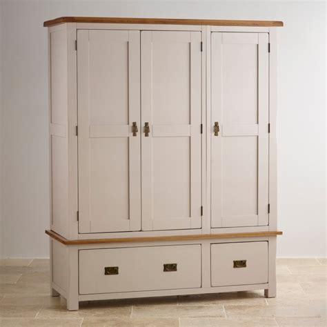 Oak Wardrobes Sale by Kemble Wardrobe In Painted Oak Oak Furniture Land