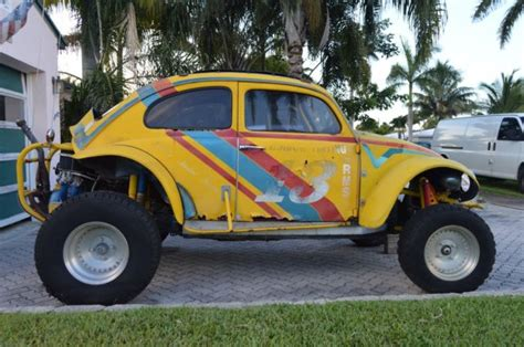 volkswagen buggy yellow yellow volkswagen competition baja bug dune buggy was