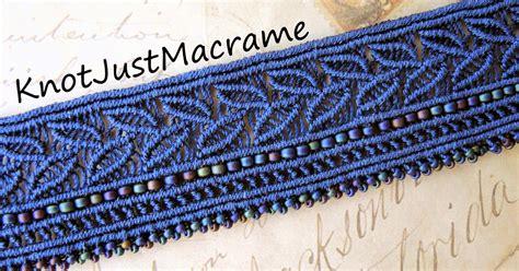 Macrame Knotting - knot just macrame by sherri stokey a new micro macrame cuff