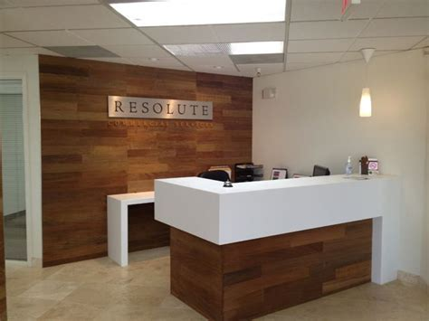 custom reception desk resolute commercial services