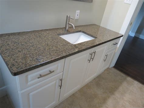 Backsplash Ideas For White Kitchen Cabinets by Granite Amp Quartz Countertops Other Metro By Vi Granite