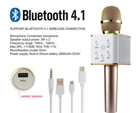Microphone Q7 Bluetooth Wireless Portable Karaoke 2 q7 q9 ws858 karaoke ktv mic portabl end 1 18 2019 10 14 am
