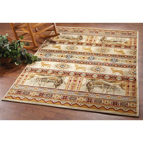 Lodge Rugs by Golden Lodge Area Rug 203059 Rugs At Sportsman S Guide