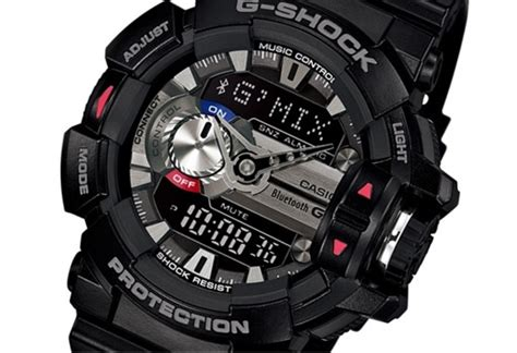 Gshock G Mix casio reveals its g shock smartwatch with song