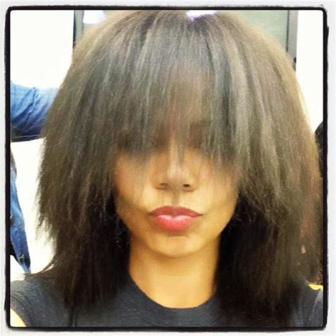 weave that looks real look ma no weave sanaa lathan shows fans her natural