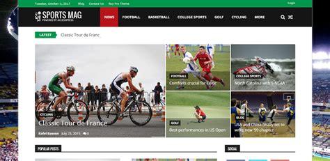 themes wordpress free sport download sportsmag free wordpress sports magazine theme