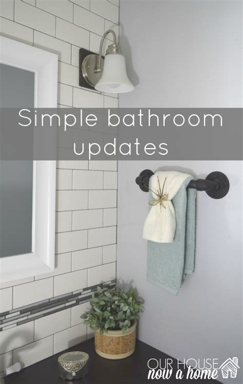 Simple Bathroom Updates by Simple Bathroom Updates Our House Now A Home
