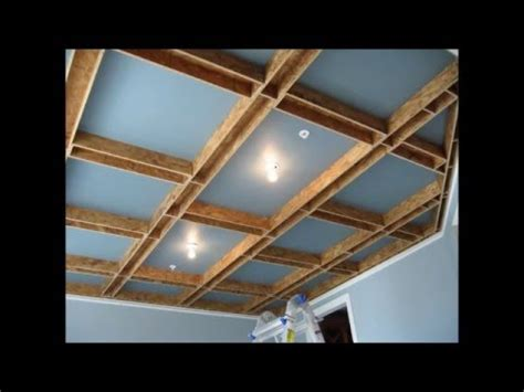 coffered ceiling build youtube