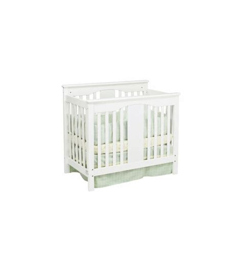 White Mini Crib Davinci Annabelle Mini 2 In 1 Convertible Crib In White