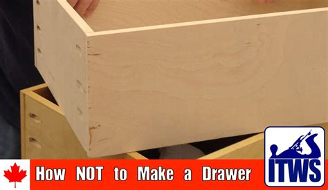 How To Make A Drawer Box Out Of Paper - how not to make a drawer