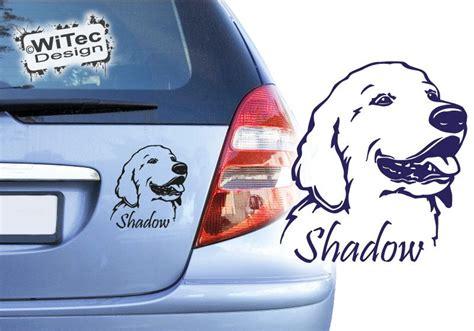 Aufkleber Am Briefkasten Einbrecher by Golden Retriever Hundeaufkleber Autoaufkleber Aufkleber