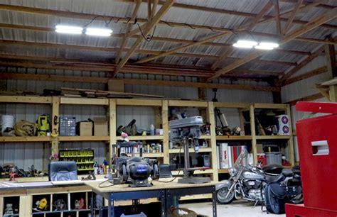 big ass fans led workshop lighting woodworkers
