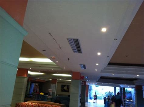 Ceiling Leaks When It Rains by Roof Leaking Plaster Falling Due To Photo De