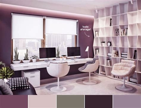 purple office decor best 25 purple office ideas on pinterest purple home