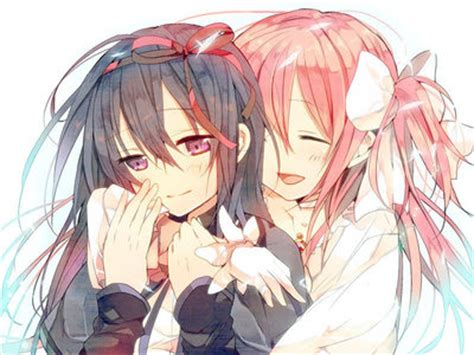 girl yuri anime love couples post a cute yuri couple anime answers fanpop