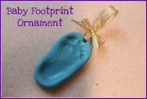 diy baby ornaments diy baby footprint ornament someday soon