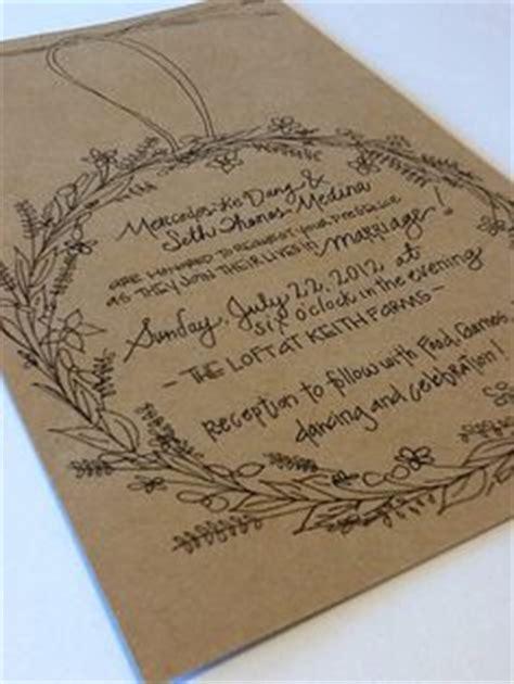 Handwritten Letter Wedding Invitation 1000 Ideas About Handwritten Wedding Invitations On Wedding Invitation Envelopes