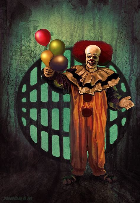 The Simpsons Stephen King It Pennywise pennywise by juhoham deviantart on deviantart