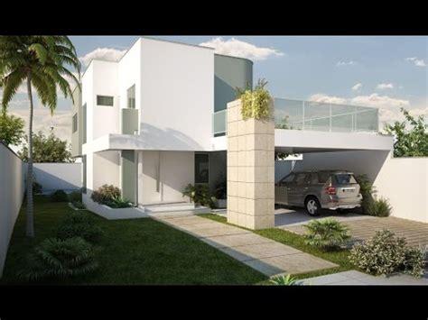 cocheras abiertas modernas fachadas de casas modernas con cochera abierta youtube