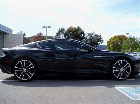 aston martin blacked first impressions 2010 aston martin dbs carbon black