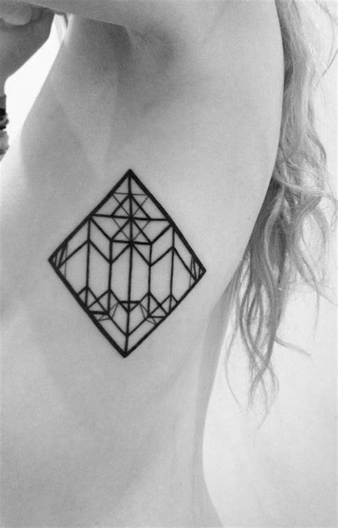 shape pattern tattoo geometric tattoos damn cool pictures