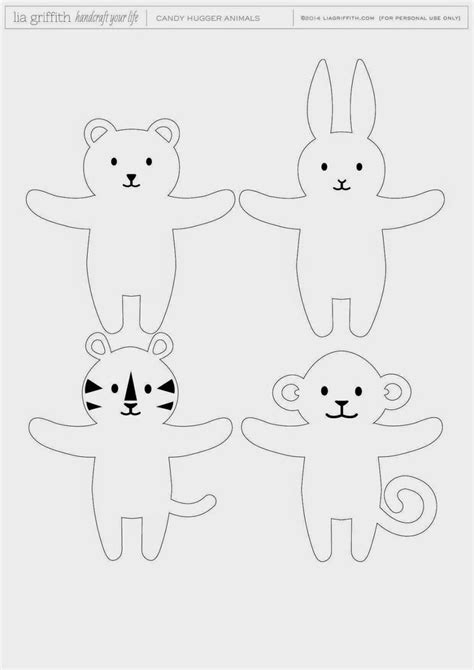 25 best animal templates ideas on felt
