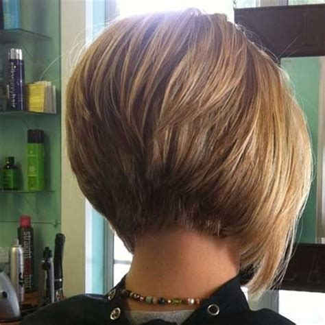 very short stacked bob back views top trend short bob hairstyles 2015