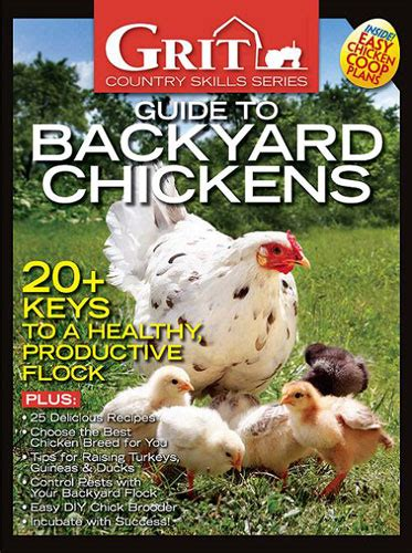 Backyard Chickens Book Earth News Grit Guide To Backyard Chickens E Book