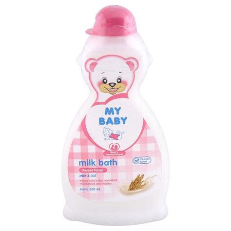 My Baby Sho 200 Ml jual my baby milk bath 200 ml sweet floral prosehat