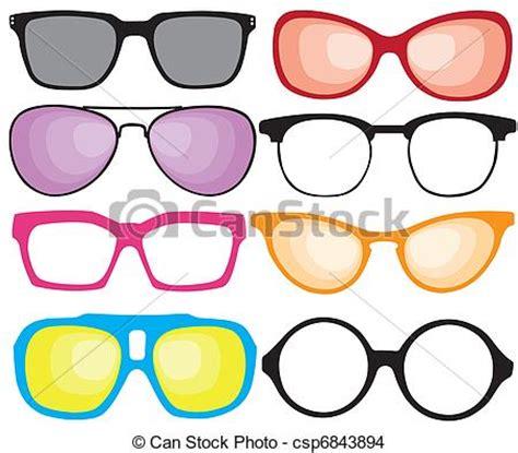 clipart occhiali vettore eps di occhiali da sole retro bello retro