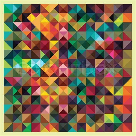 colorful background mosaic pattern design colorful triangles modern abstract mosaic design pattern