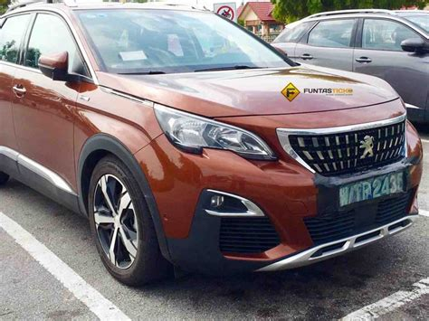 peugeot 3008 white 2017 spied 2017 peugeot 3008 seen in malaysia could debut