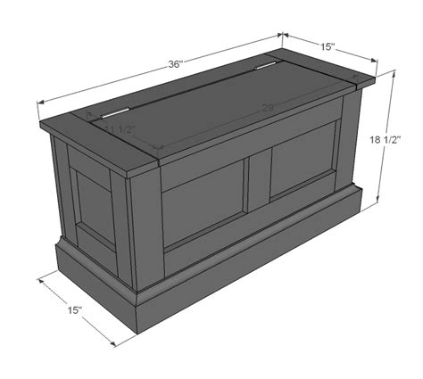 building a storage bench plans for building a storage bench seat quick