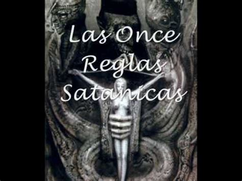 imagenes mas satanicas las 11 reglas satanicas las 9 declaraciones satanicas y