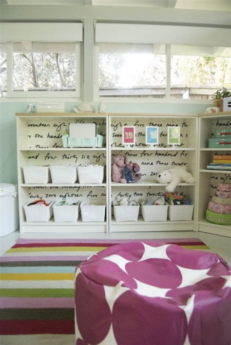 baskets for billy bookcase room tour cordelia s calm and colored nursery