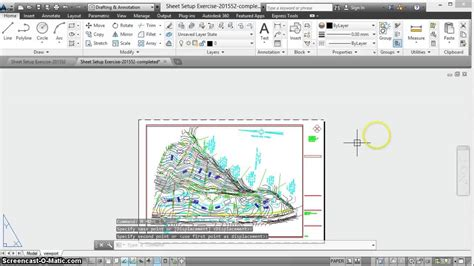 Autocad Layout Viewport Ucs | creating a viewport with ucs in autocad 2014 youtube