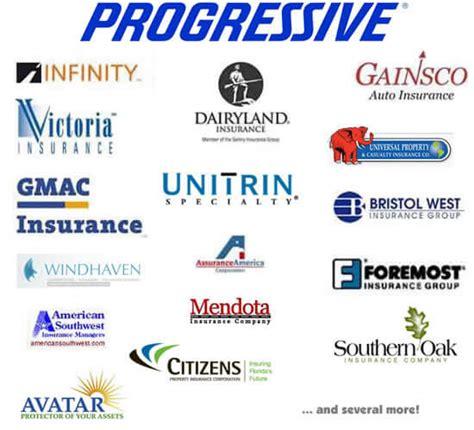 insurance companies progressive infinity gmac