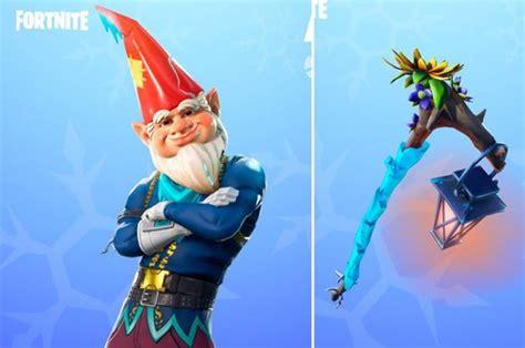 fortnite shop grimbles skin season   gnome item