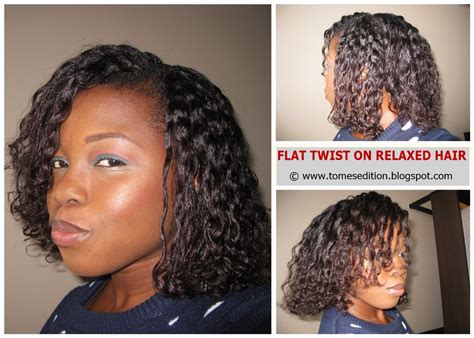 Flat Twist Hairstyles On Relaxed Hair by Tomes Edition My Best Flat Twist Out On Relaxed Hair