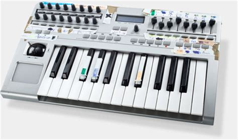 Midi Knobs And Faders by Costaq Nv 25slmkii 2 Octave Midi Usb Controller With