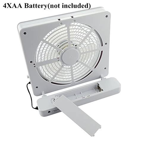 battery powered fan amazon welltop 6 inch portable fan usb or aa battery powered
