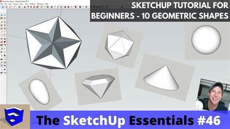 tutorial sketchup for beginner sketchup tutorials the sketchup essentials