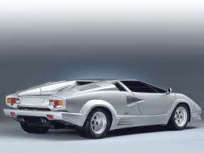Lamborghini Countach Pictures 1989 Lamborghini Countach 25th Anniversary Pictures