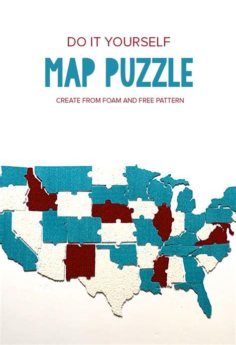 us map puzzle free diy us map puzzle pars caeli