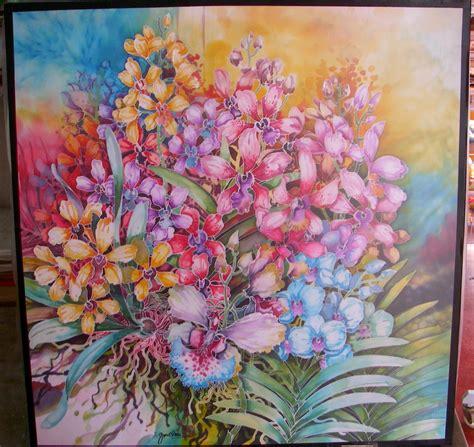 batik design exle batik paintings malacca batik art